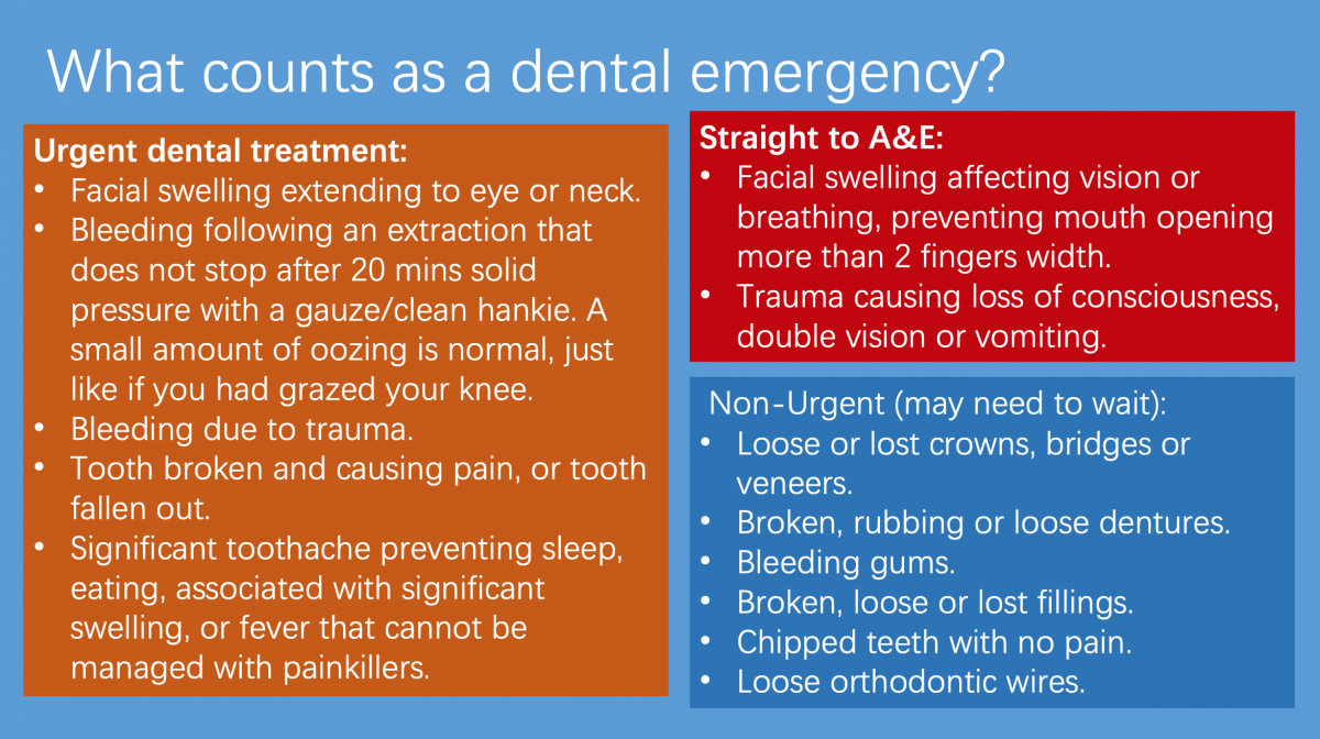 dental health advice in fleet hampshire